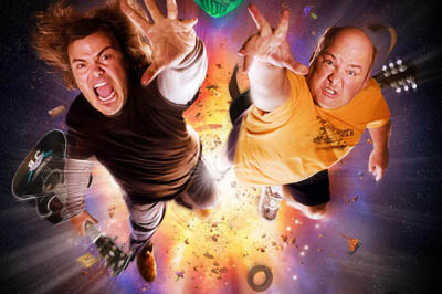 Jack Black and Kyle Gass Jack Black Tenacious D Tribute